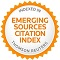 Emerging Sources Citation Index (ESCI) de la WoS